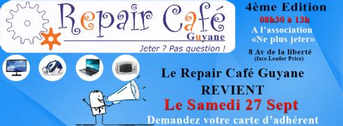 Repair Café Guyane 27sept14