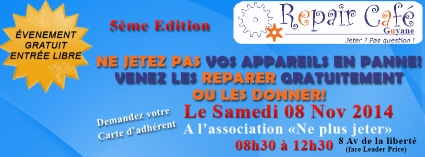 Repair Cafe Guyane_8nov14