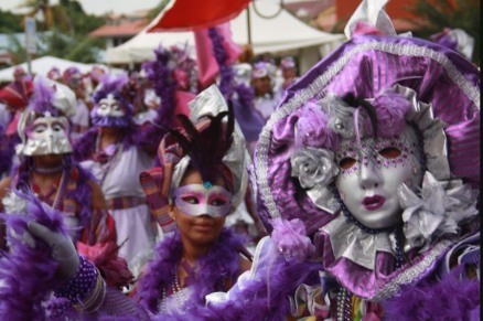 Touloulou carnaval Guyane